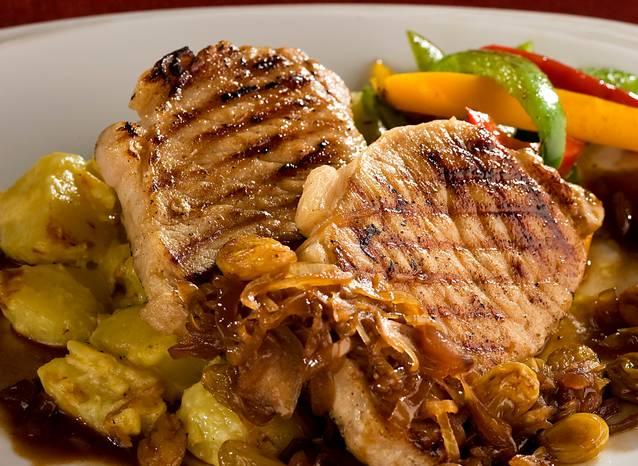 Twin U.S. Pork Chop