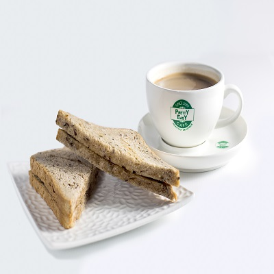 [Toast Set] Kaya Toast + Black Coffee