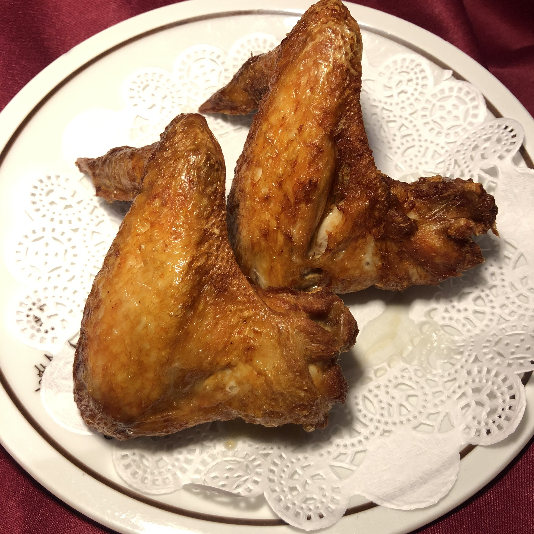 Fried Chicken Wings (per pair)