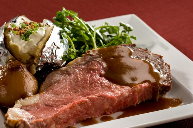 Roast Prime Rib (240g)*only available on Fridays and Saturdays*