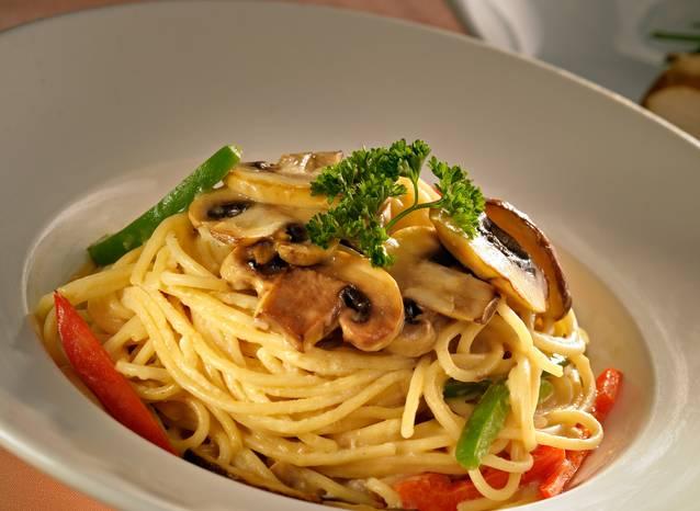 Mushroom al Funghi (Vegetarian)