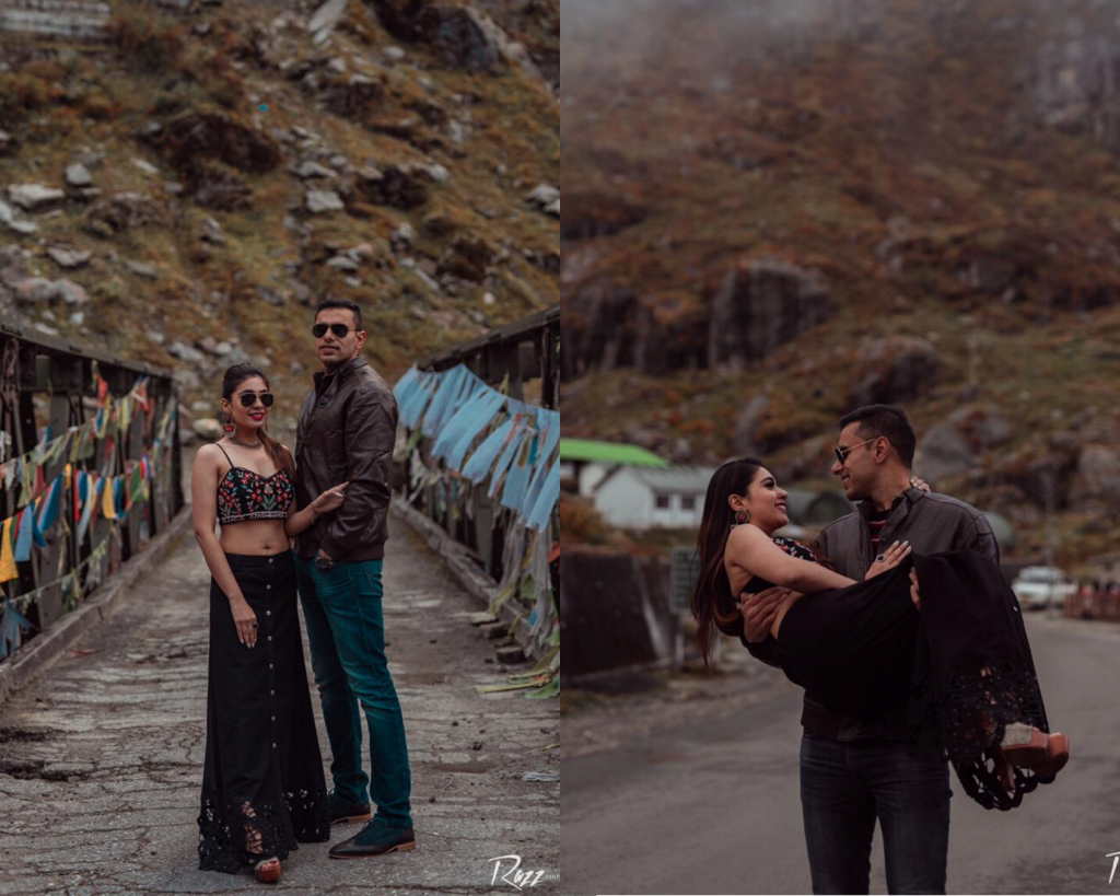 Boho Themed Pre-wedding Shoot in Sikkim