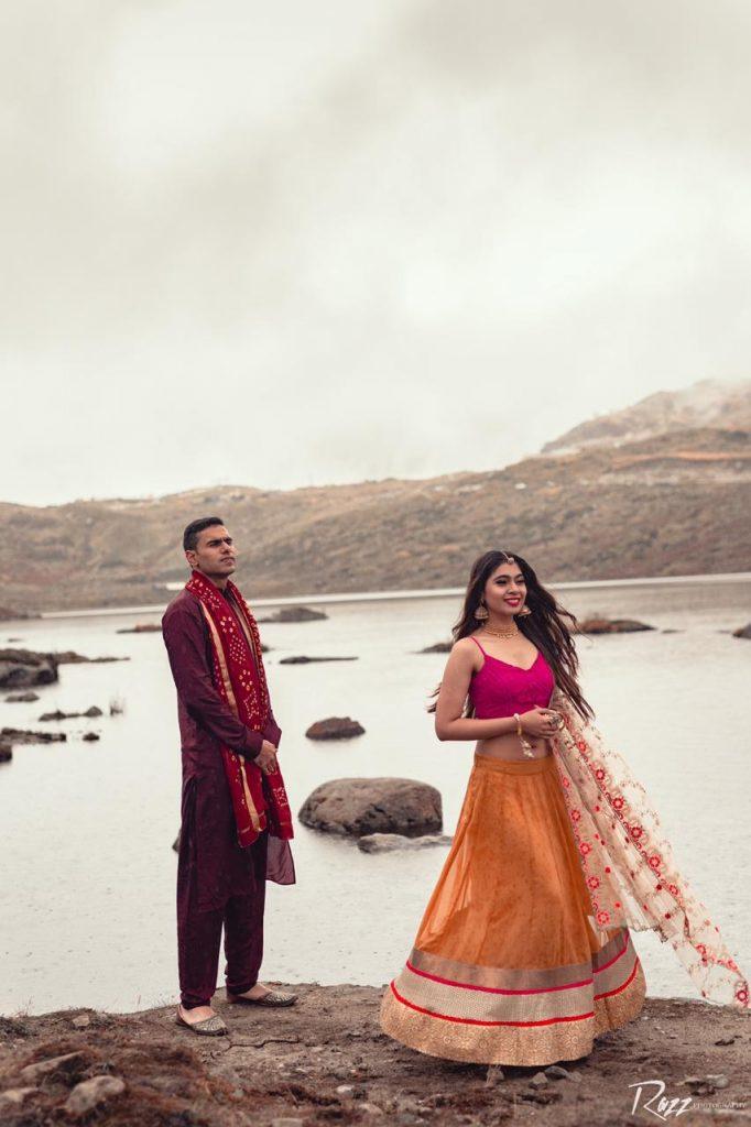 Traditional Theme Pre Wedding Shoot