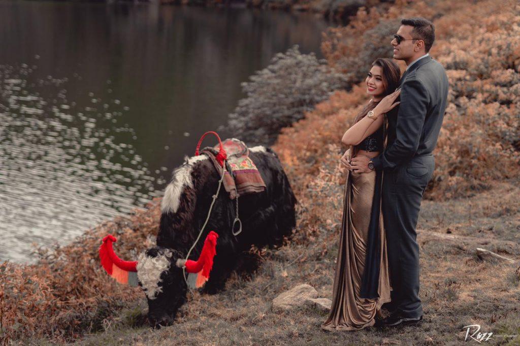 Pre Wedding Shoot in Sikkim