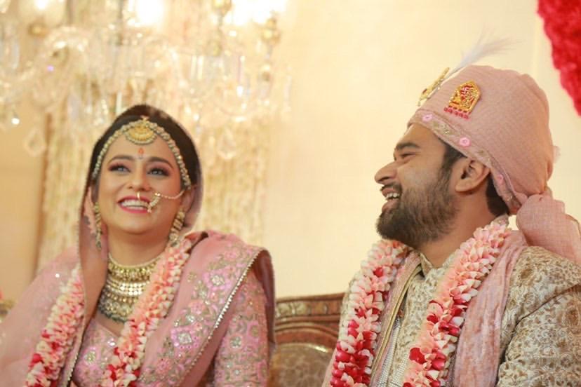 Bengali bride & groom