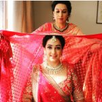 Sabyasachi Bride Getting Ready Shot