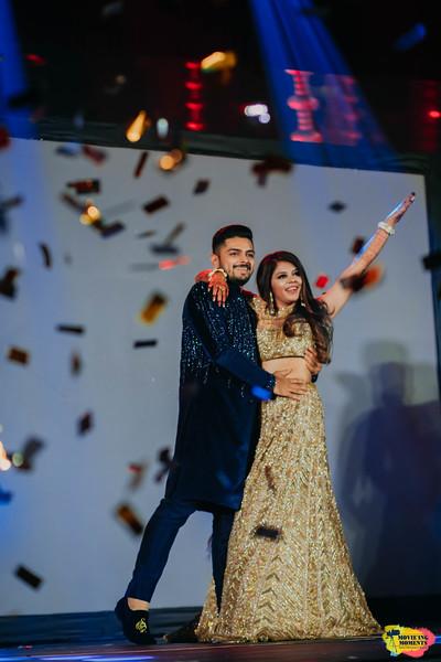 Sangeet Performance by bride & groom