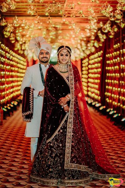 Royal Indian bride & Groom