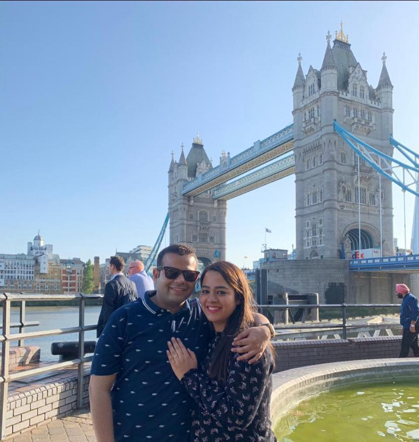 A Surprise Wedding Proposal In London