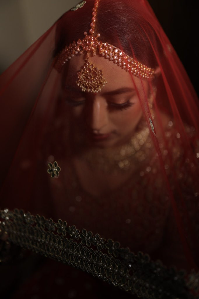 Indian Bride Veil Photo