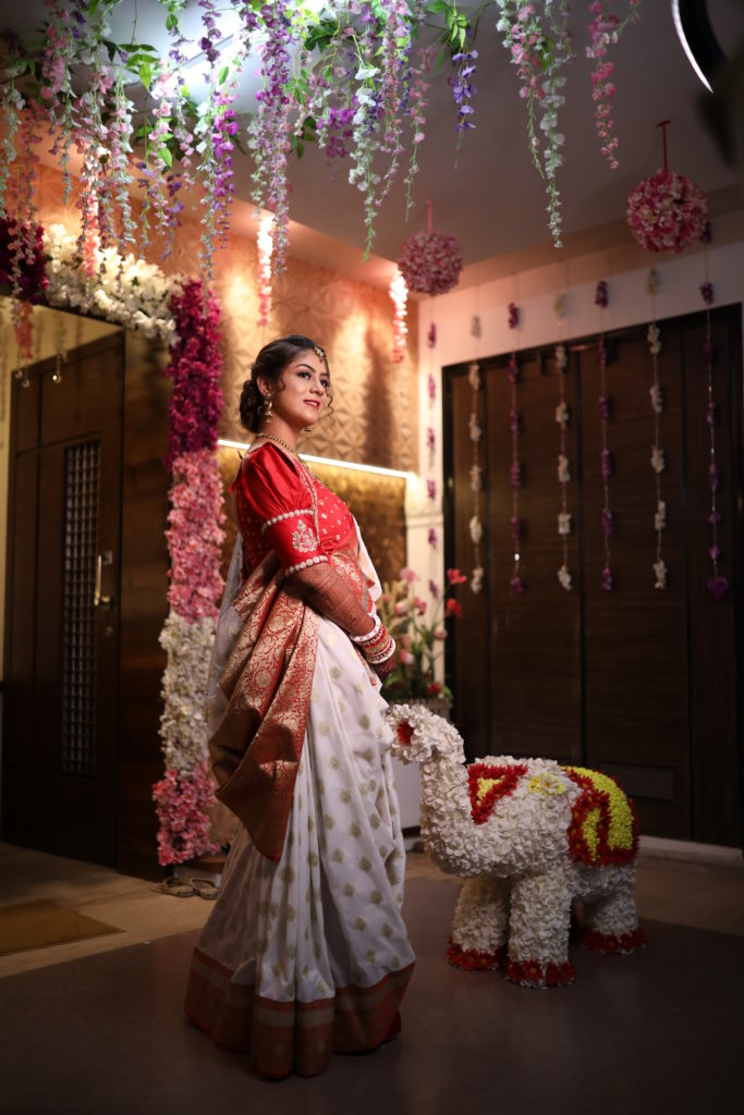 Gujrati wedding Mandap Pooja