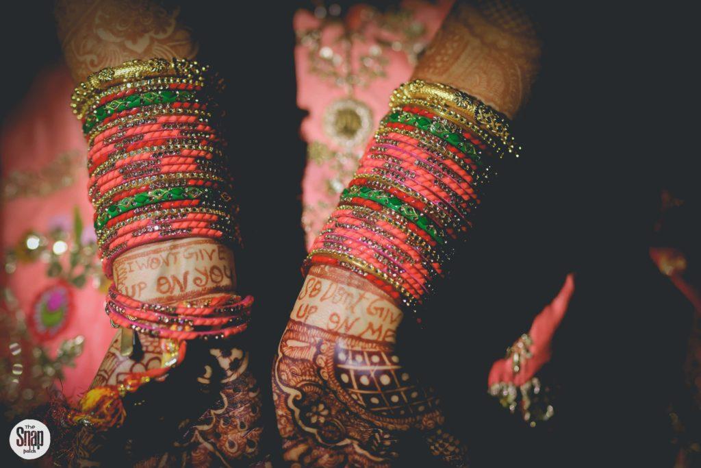 Indian Bride bangles