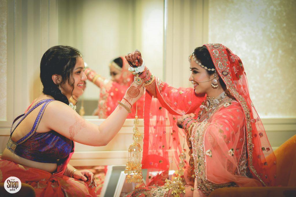 Indian bride & bridesmaid shoot