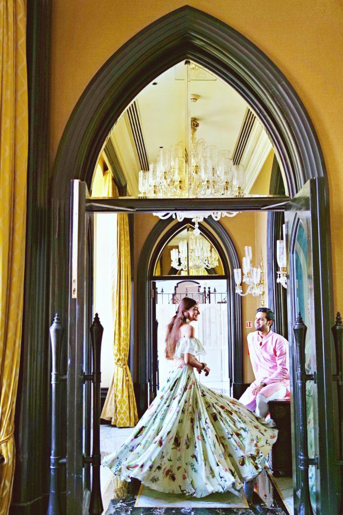 Mehendi at Taj Palace, Mumbai