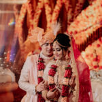 Indian bride & groom