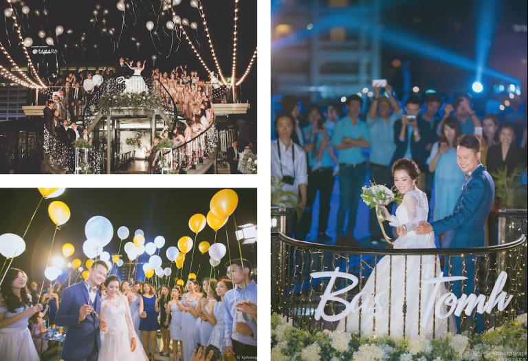 Rooftop Wedding จัดงานไม่มีค่าใช้จ่ายขั้นต่ำ @Hotel Once Bangkok