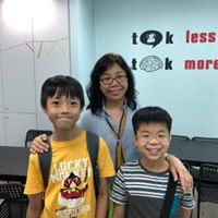 Mrs Tan-Teo Lay Leng students Ignium Academy
