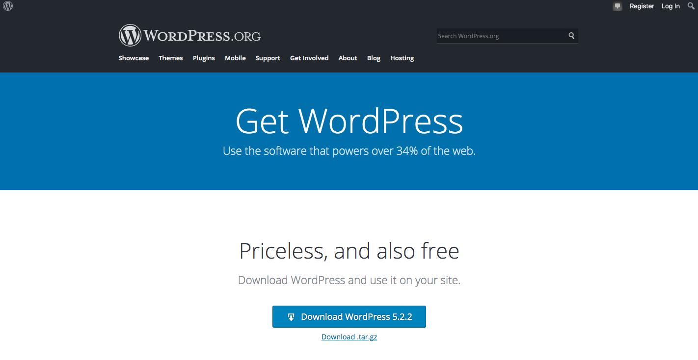 Wordpress 網站
