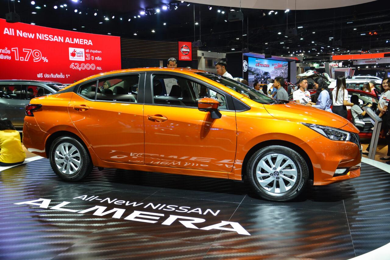 Eco-car-Nissan Almera