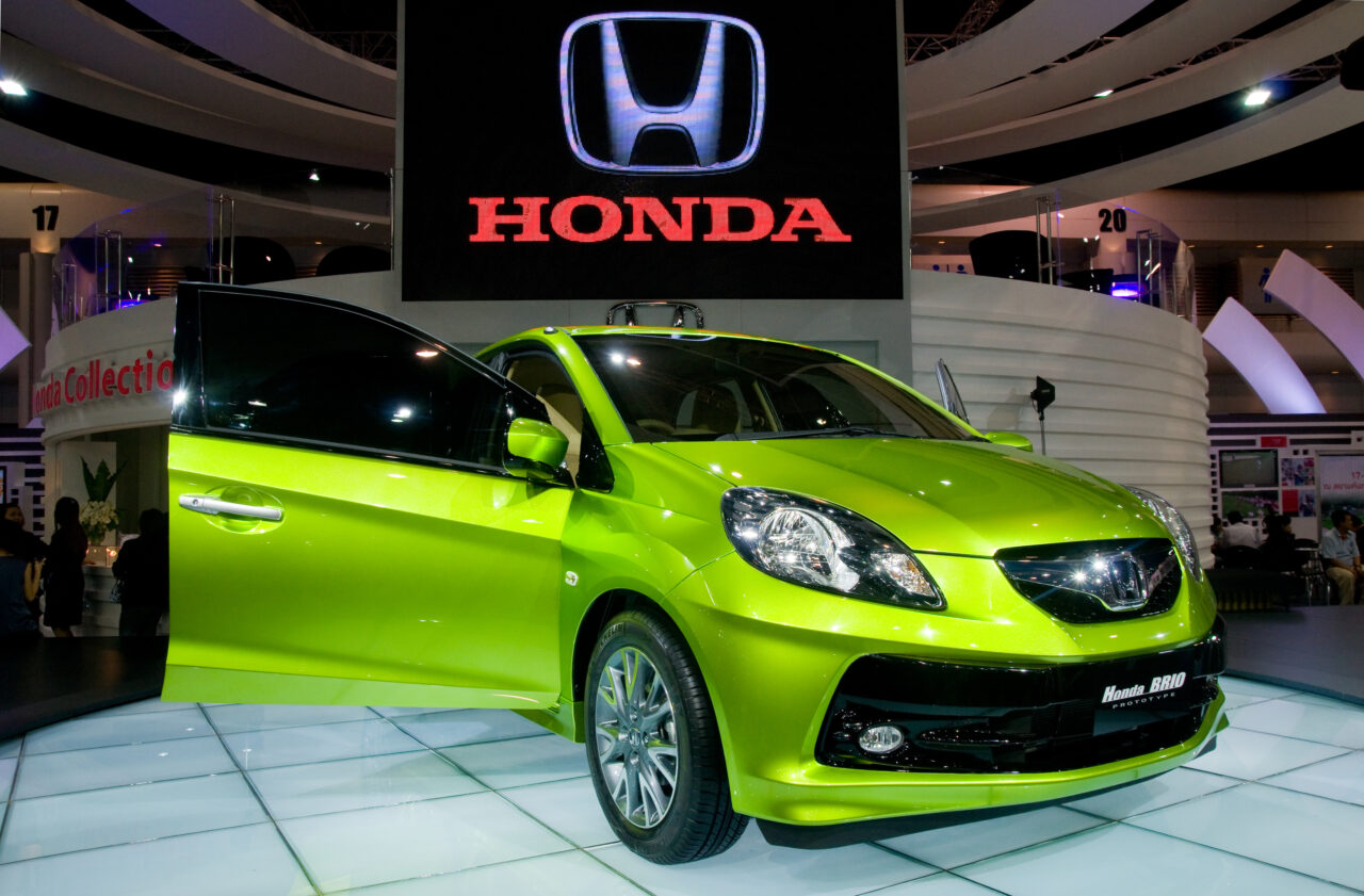 Eco-car-Honda Brio