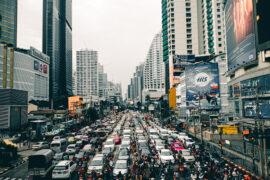 ถนนหรือแยกไหนที่รถติดที่สุดในประเทศไทย