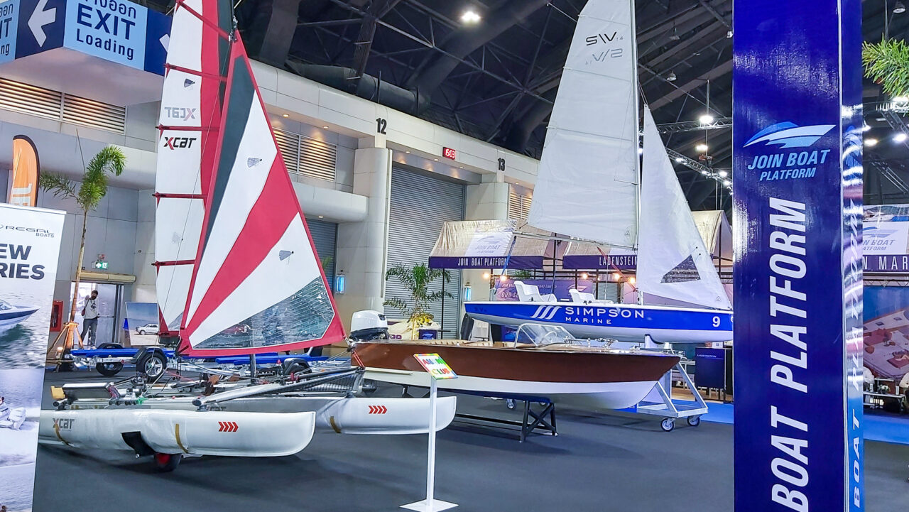 Motor Expo 2020 เรือในงานรถ