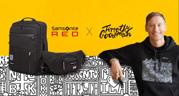 กระเป๋า Samsonite RED