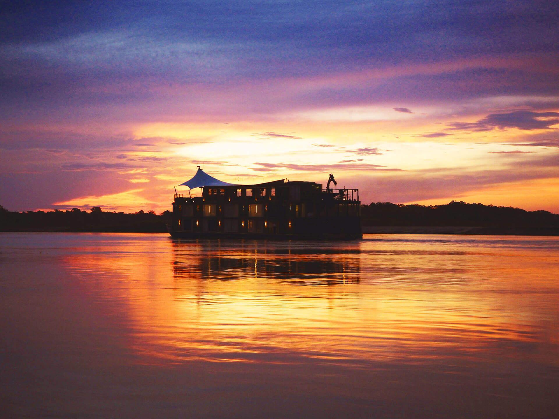 Destination: Down to the Amazon River