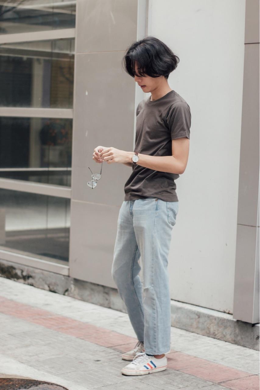 เสื้อยืด คอกลม แขนสั้น : 150 THB