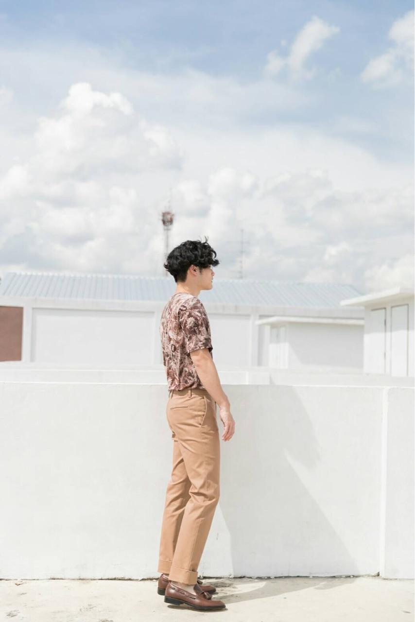 กางเกงขายาว Tan - relax trousers : 1,390 THB
