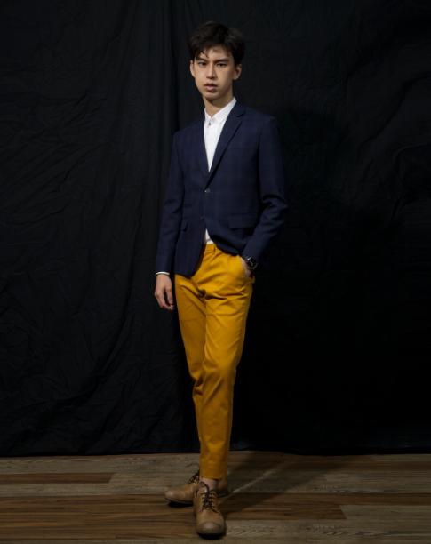 กางเกงขายาว Mastard tailored trousers : 1,390 THB