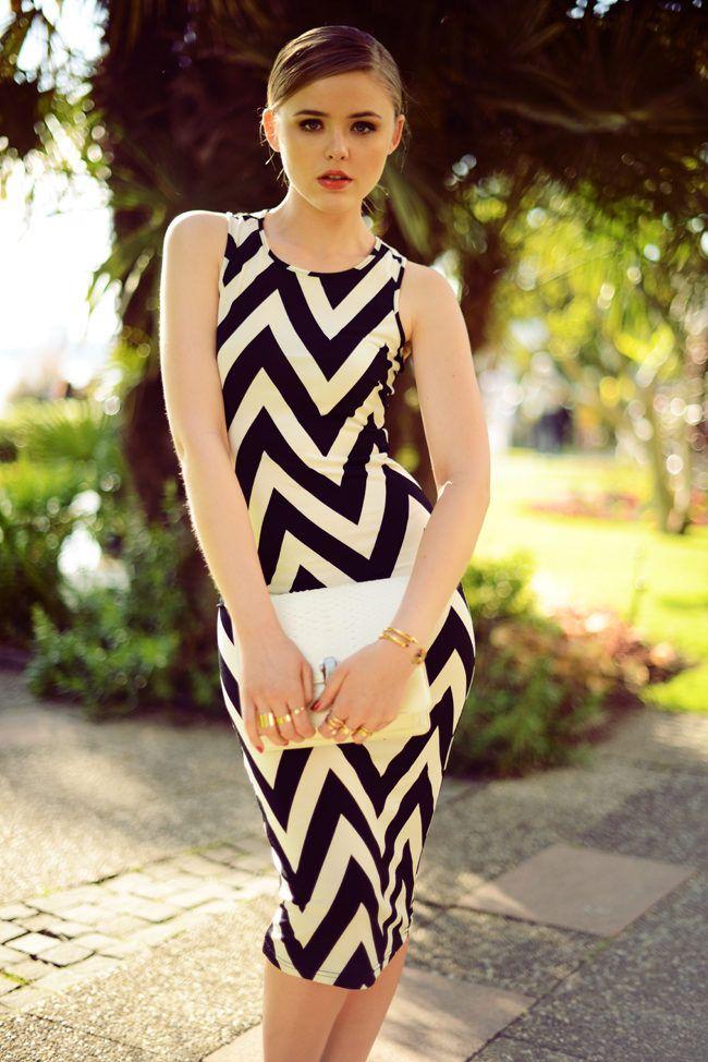 elegant-chevron-dress
