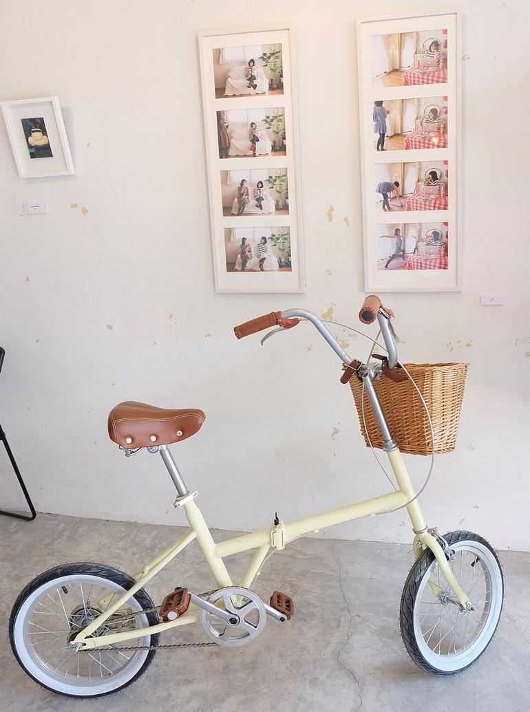 คาเฟ่และจักรยาน