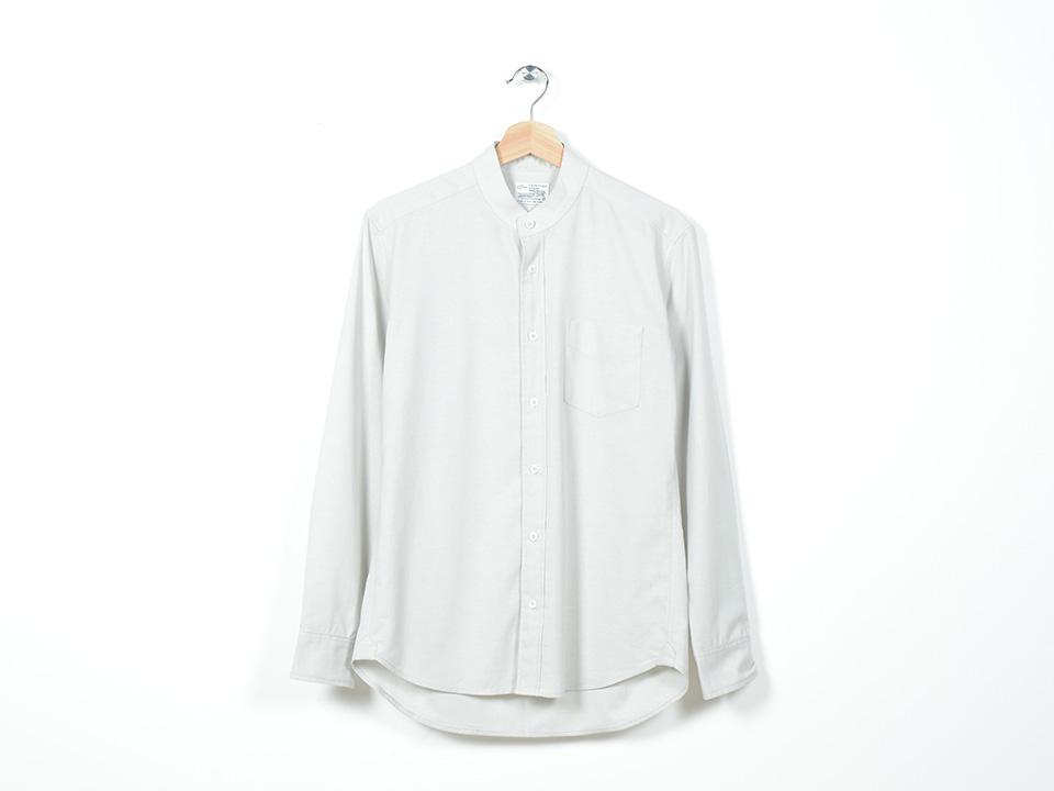 Mandarin Shirt Grey