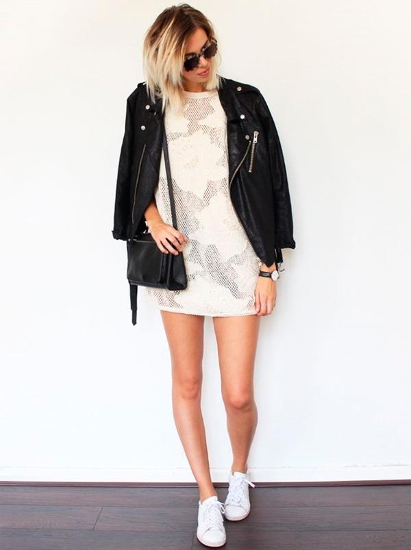 jaqueta-couro-preta-vestido-mini-branco