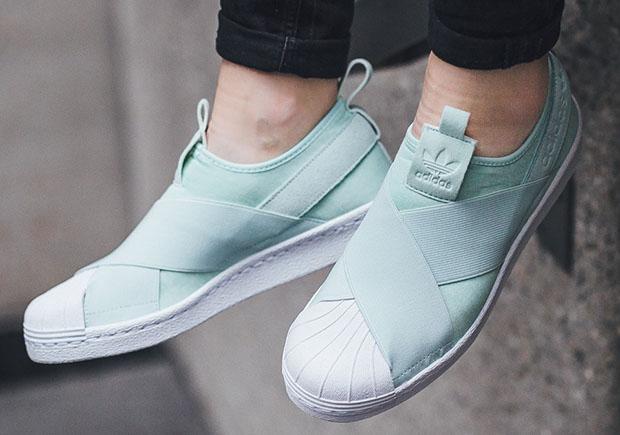 adidas-superstar-slip-on-women-mint-green-1