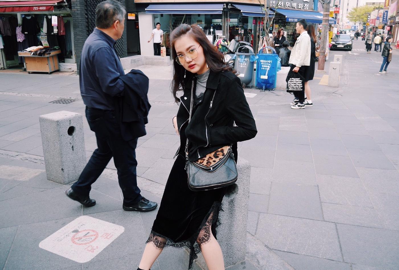 Korean Street Look