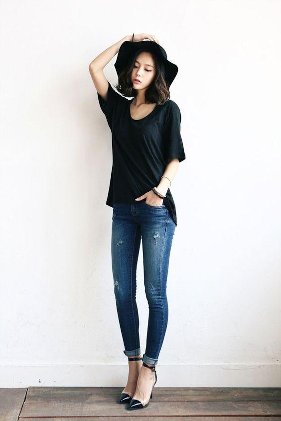 skinny jeans heels13