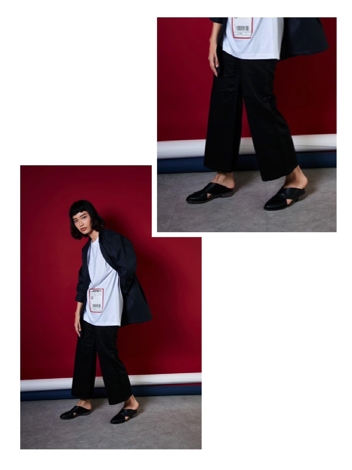 กางเกงสีดำ