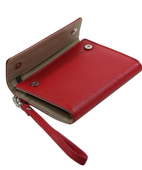 กระเป๋าตังค์สีแดง