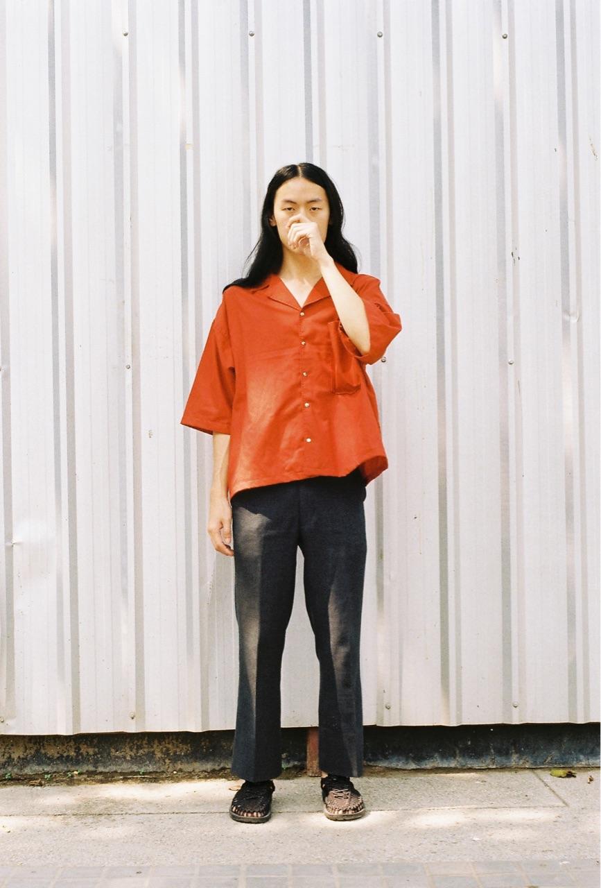 เสื้อเชิ้ต แขนสั้น Open collar shirt - 690 THB