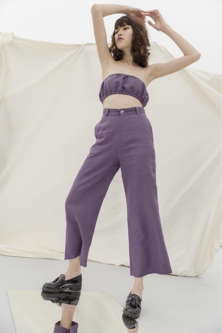กางเกงขายาว Mauve Growth pants : 1,290 THB