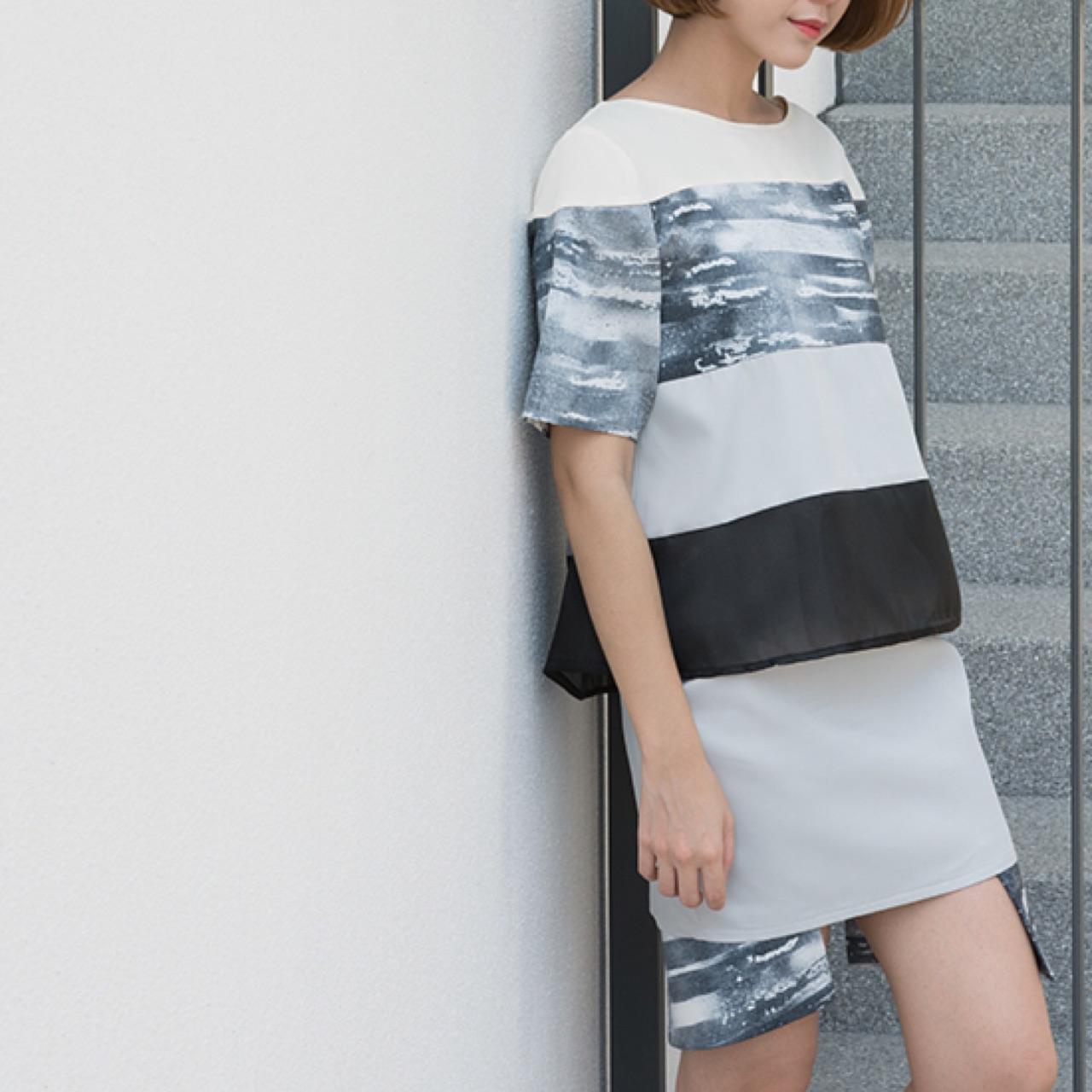 [ กระโปรงสั้น Trim Skirt - 1,450 THB ]