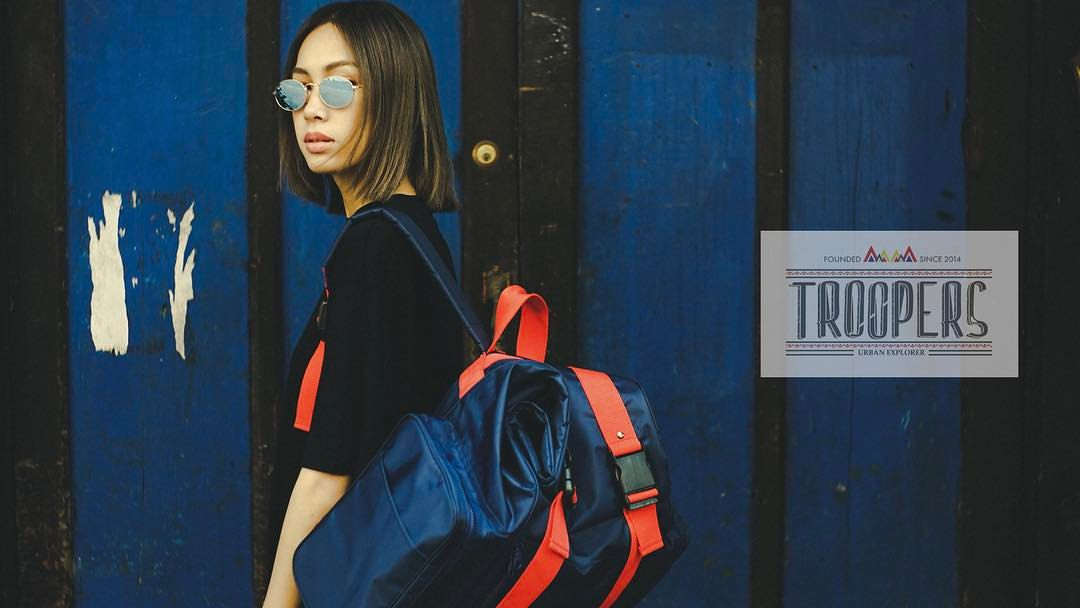 [ กระเป๋าเป้ Troopers Big Tank Navy Backpack - 2,300 THB ]