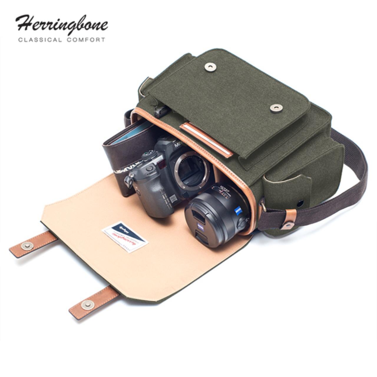 [ กระเป๋ากล้อง Papas Medium Olive - 3,990 THB ]