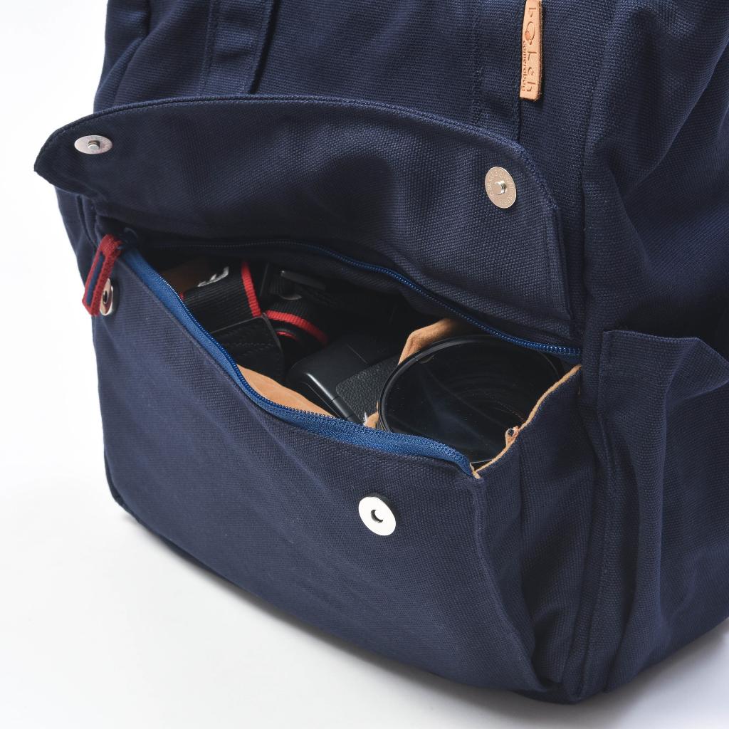 [  Bokeh Camerabag : Tote Navy (New Material) - 2,490 THB ]