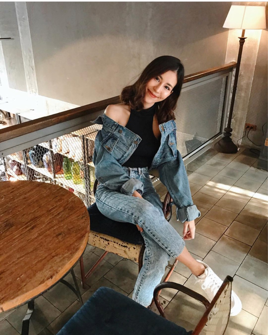 [  Jacket cropped jeans - 990 THB ]
