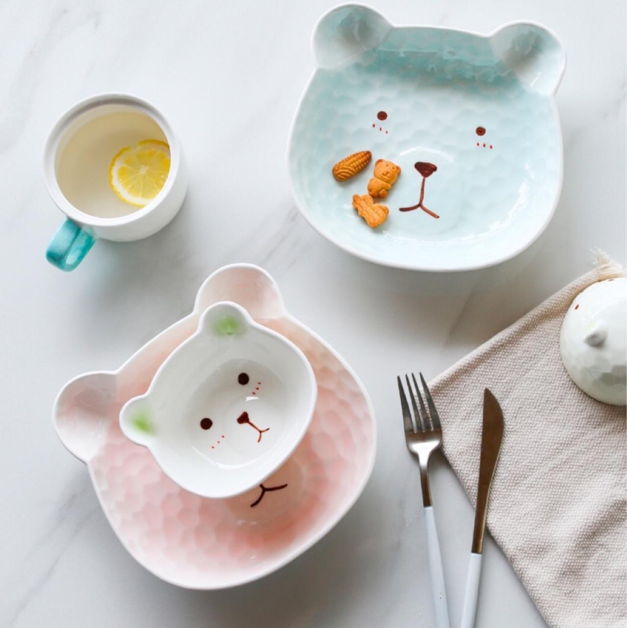 เซ็ตชามรูปหมี