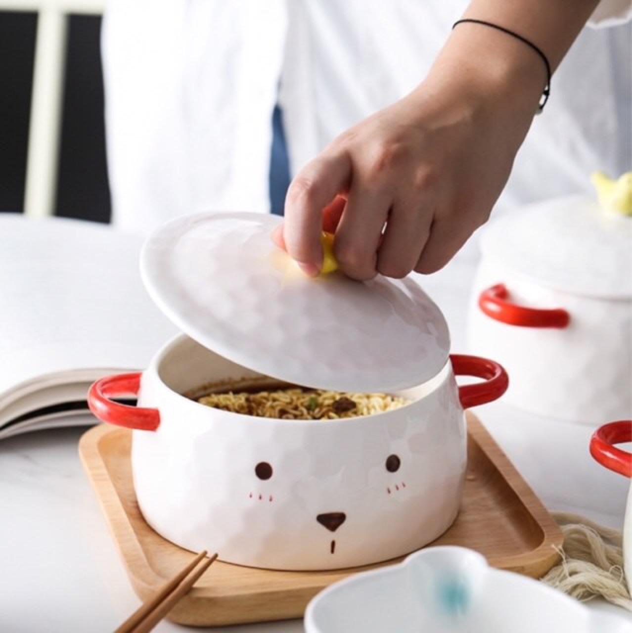 [ ถ้วย Cute Bear Bowl - 590 THB ]
