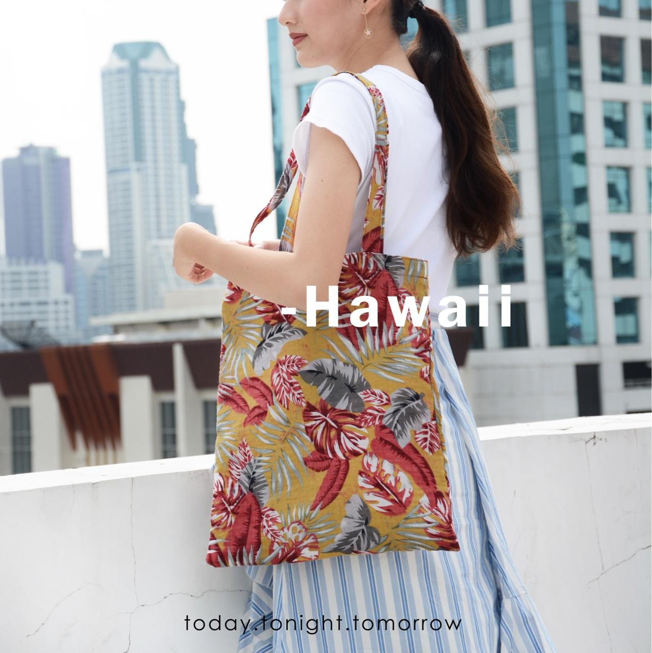 [ Hawaii linen tote - 450 THB ]